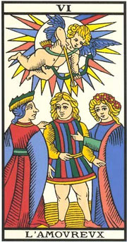 tarot gratuit carte l amoureux tarot de marseille